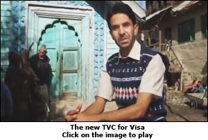 The new TVC for Visa