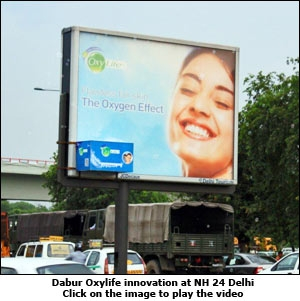 Dabur Oxylife innovation at NH 24 Delhi