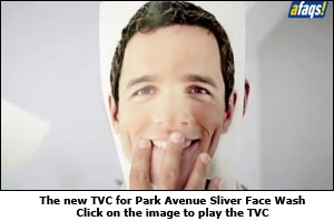 The new TVC for Park Avenue Sliver Face Wash