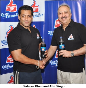 Salman Khan and Atul Singh
