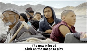 The new Nike TVC