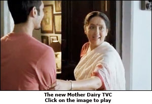 The new Mother Dairy TVC