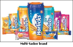 Horlicks the multi-tasker brand