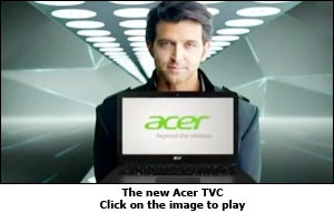 The new Acer TVC