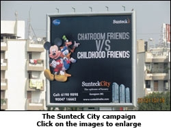 The Sunteck City campaign