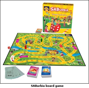 SABurbia board game