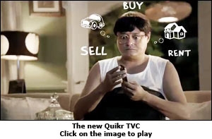 The new Quikr TVC