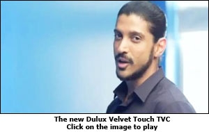 The new Dulux Velvet Touch TVC