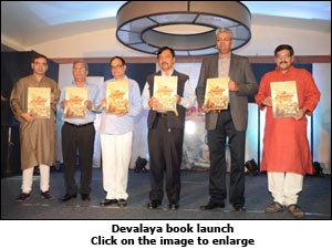 Devalaya book launch