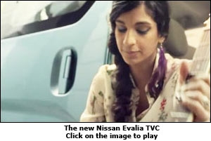 The new Nissan Evalia TVC
