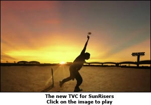 The new TVC for SunRisers