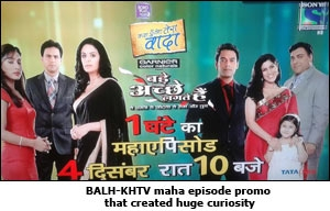 BALH-KHTV maha episode promo that created huge curiosity