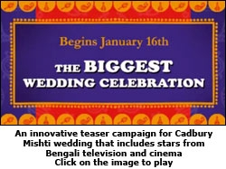 Teaser campaign for Cadbury Mishti wedding