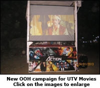 New OOH campaign for UTV Movies