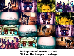 Instagrammed reasons to run