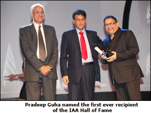 Pradeep Guha named the first ever recipient of the IAA Hall of Fame