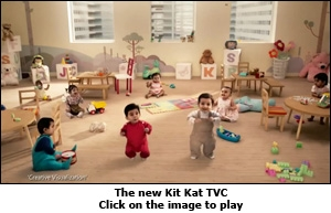 The new Kit Kat TVC