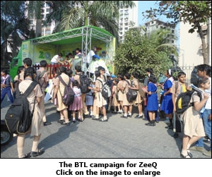 The BTL campaign for ZeeQ