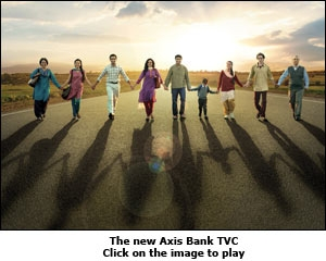 The new Axis Bank TVC