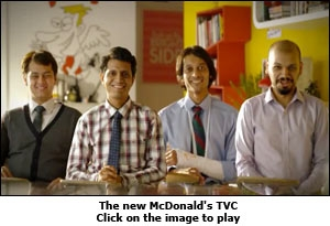 The new McDonald's TVC