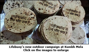 Lifebuoy's new outdoor campaign at Kumbh Mela