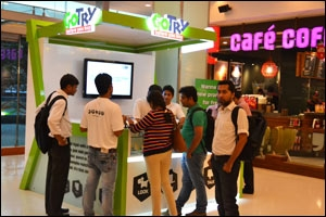 Go Try kiosks at Mumbai and Delhi malls