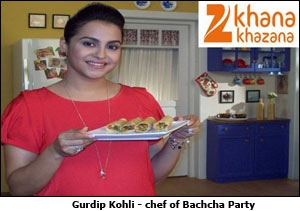 Gurdip Kohli - chef of Bachcha Party
