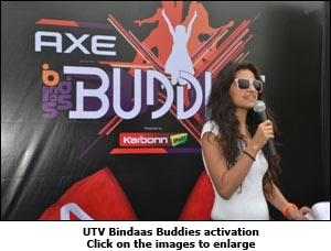UTV Bindaas Buddies activation