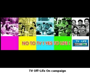 TV Off-Life On campaign