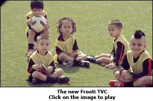 The new Frooti TVC