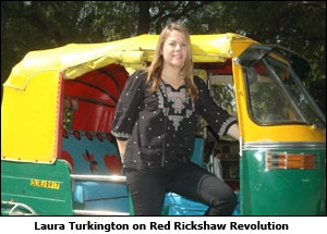 Laura Turkington on Red Rickshaw Revolution