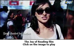 The Joy of Reading film