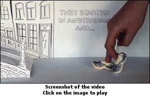 A screenshot of the video