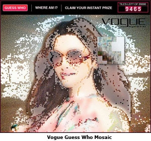 Vogue Guess Who Mosaic