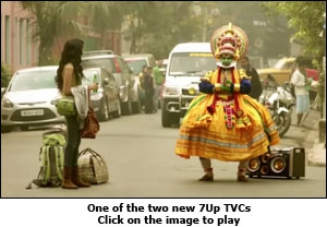 One of the two new 7Up TVCs