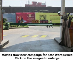 Movies Now new campaign for Star Wars Series