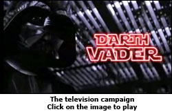Television campaign for Star Wars Series on Movies Now