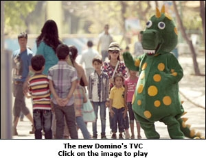 The new Domino's TVC