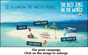 The print campaign