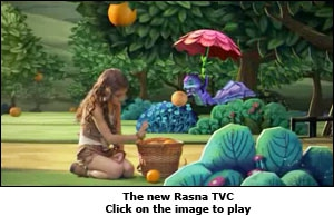The new Rasna TVC