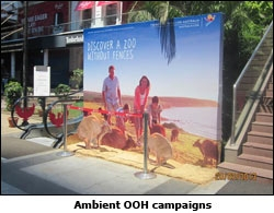 Ambient OOH campaigns