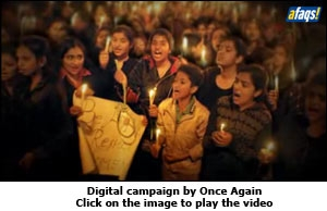 Digital campaign by Once Again