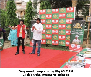 Onground campaign by Big 92.7 FM