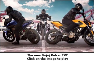 The new Bajaj Pulsar TVC