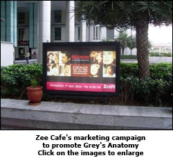 Zee Cafe's marketing campaign to promote Grey's Anatomy