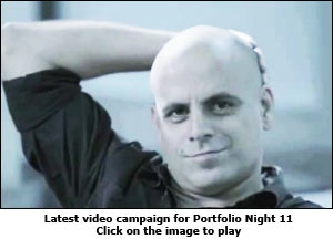 Latest video campaign for Portfolio Night 11