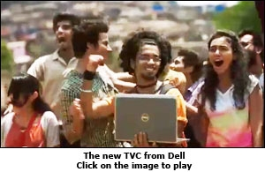 The new TVC from Dell