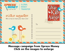 Message campaign from Xpress Money
