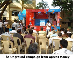 The Onground campaign from Xpress Money