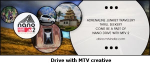 Drive with MTV creative